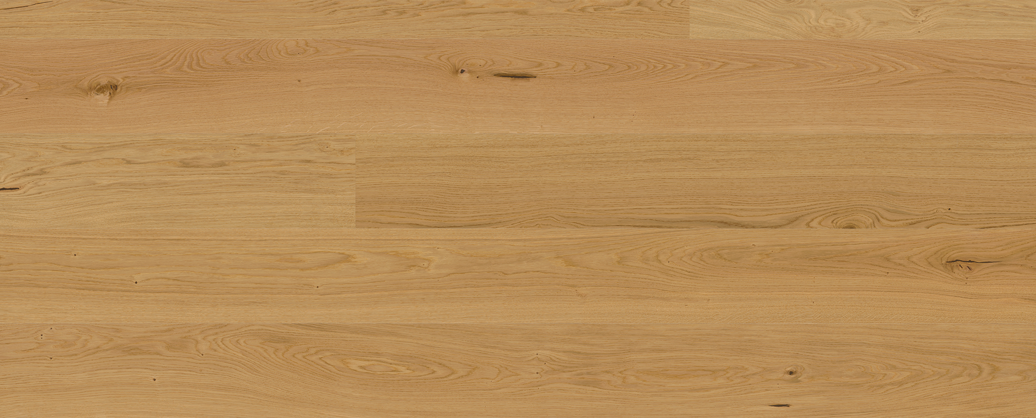 Engineered oak floor - Oak natural
